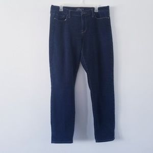 Lucky Brand Sofia Skinny dark wash jeans 16